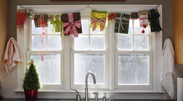 Diy Christmas Window Treatments : Awesome christmas window d?cor ideas digsdigs