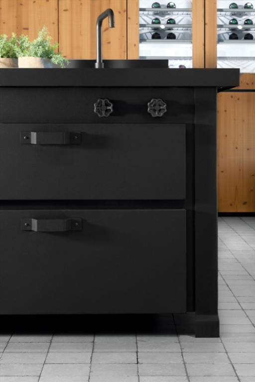 Awesome Dark Metal Kitchen By Minacciolo