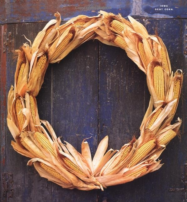 Awesome Fall Wreaths With Corn And Corn Husk