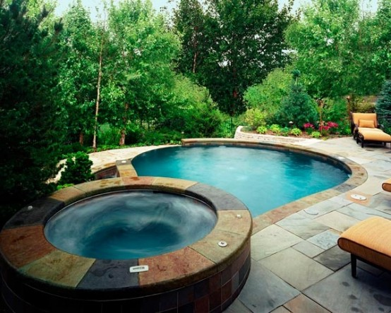 Awesome Garden Hot Tubs