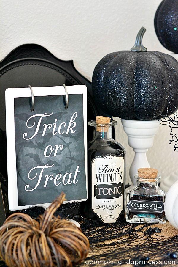 Awesome Halloween Indoor Decor Ideas