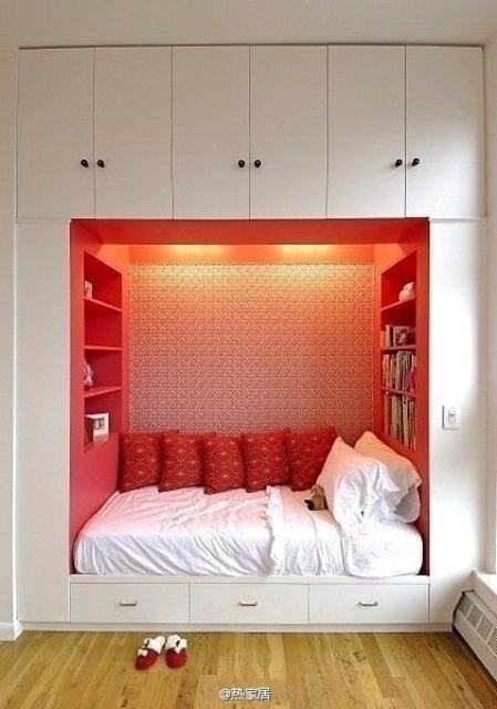 Awesome Hidden Beds To Save The Space