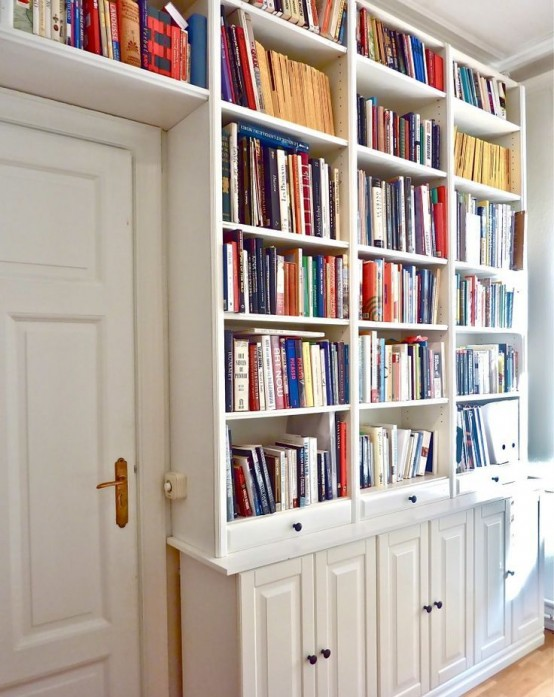You Can Frame A Door With Billy Bookcases It S An Awesome Solution For Home