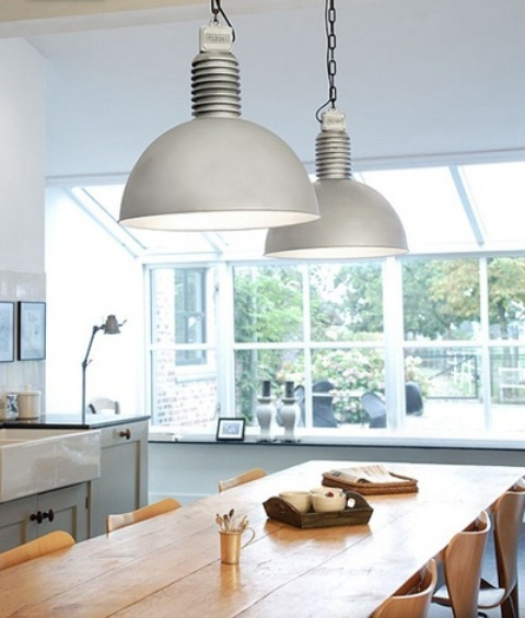 Awesome Industrial Lamps To Get Inspired