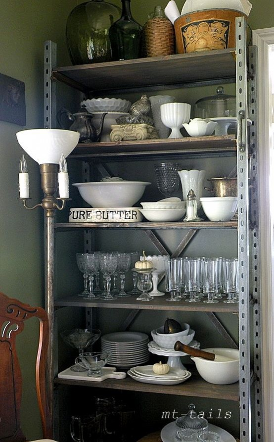 Awesome Shelves 30 awesome industrial shelves and racks for any space - digsdigs