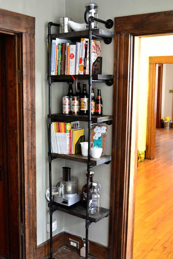 30 awesome industrial shelves and racks for any space