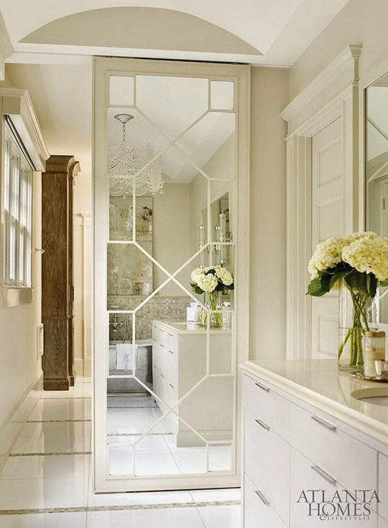 Awesome Interior Sliding Doors Ideas For Every Home & 33 Awesome Interior Sliding Doors Ideas For Every Home - DigsDigs