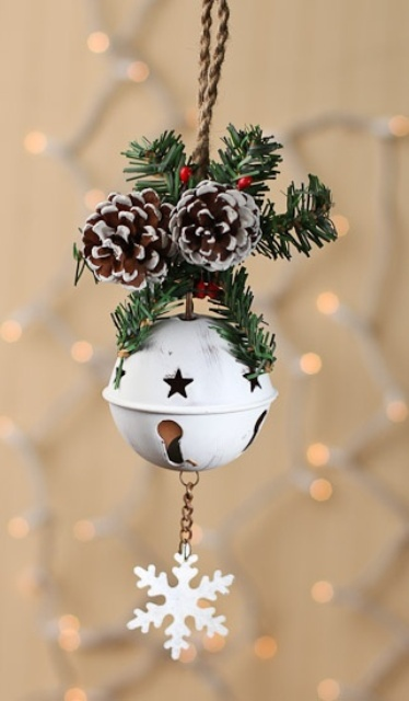Christmas Decoration Jingle Bells Holliday Decorations Simple Decorative Jingle Bells
