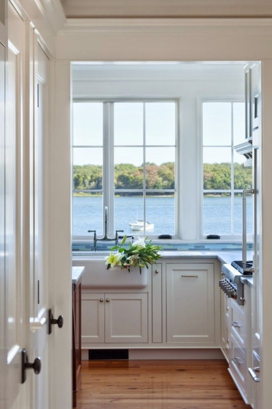 Awesome Kitchen Designs With A View