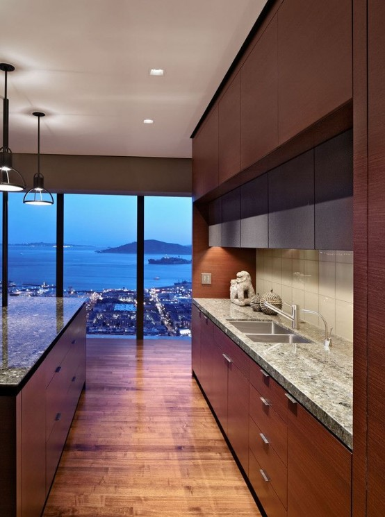 38 Awesome Kitchen Designs With A View - DigsDigs