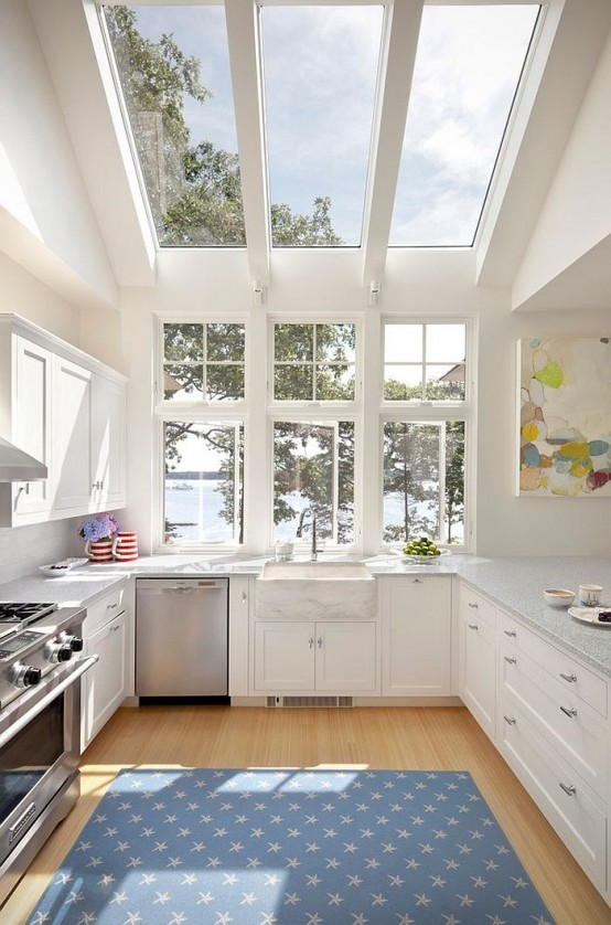38 Awesome Kitchen Designs With A View