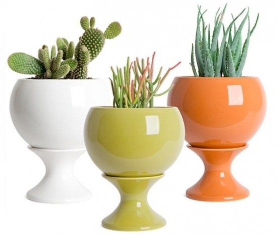 Awesome Modern Colorful Planters Collection
