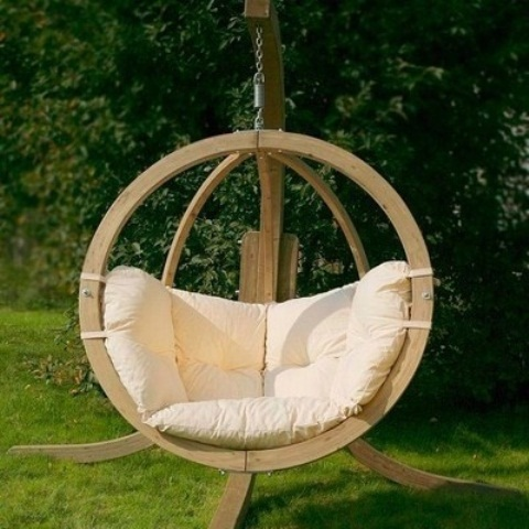 33 awesome outdoor hanging chairs digsdigs - Chaises de jardin ...