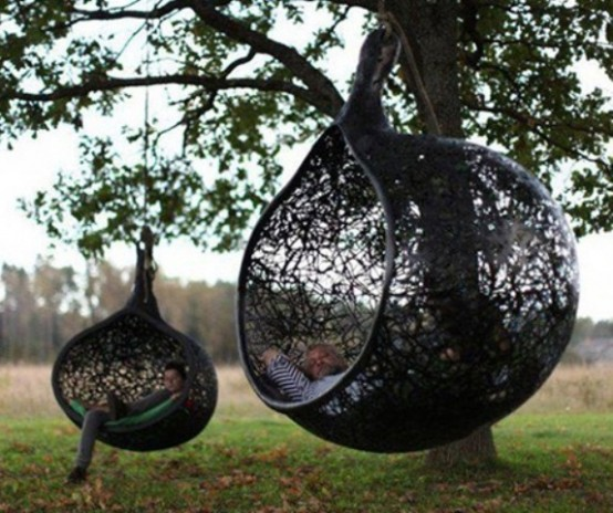 Exceptionnel Awesome Outdoor Hanging Chairs