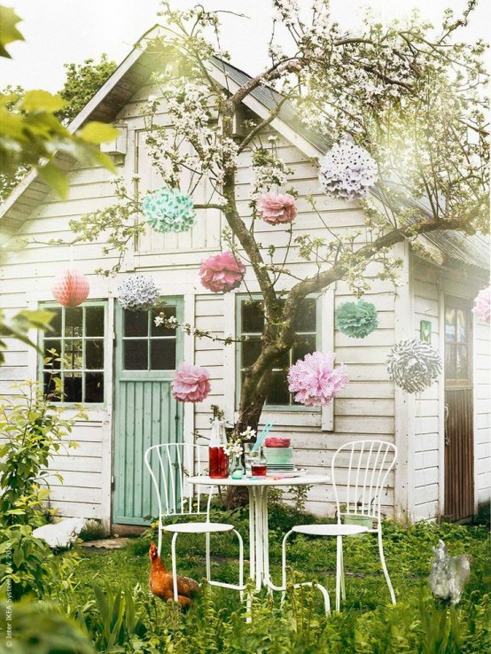 Awesome Outdoor Kids Playhouses To Build This Summer