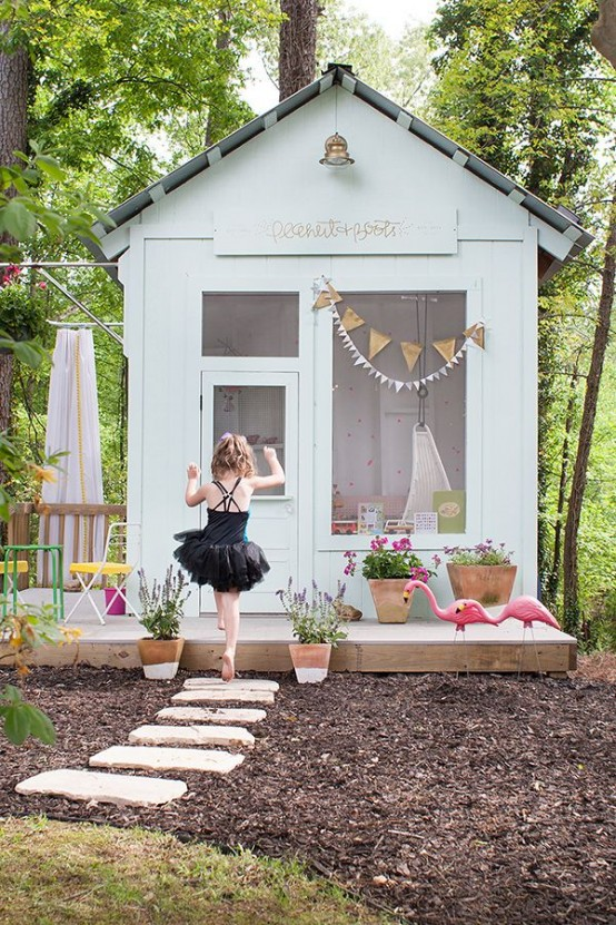 Playhouse Outdoor Area