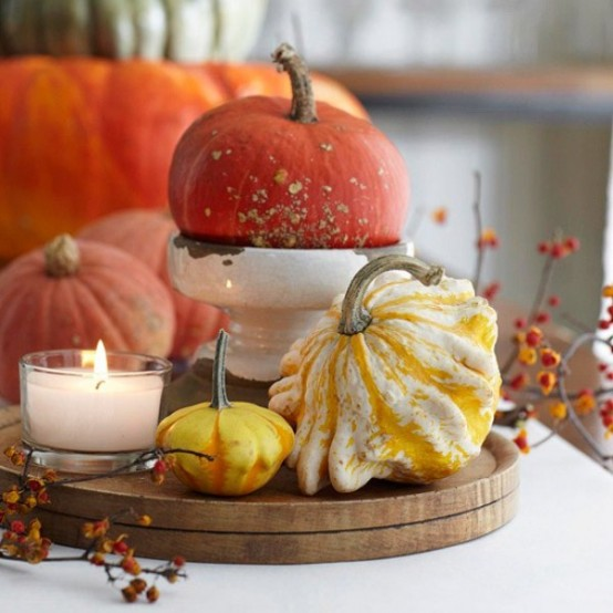 65 Awesome Pumpkin Centerpieces For Fall And Halloween Table Digsdigs