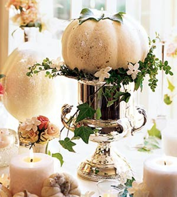 Awesome pumpkin centerpieces for fall and halloween