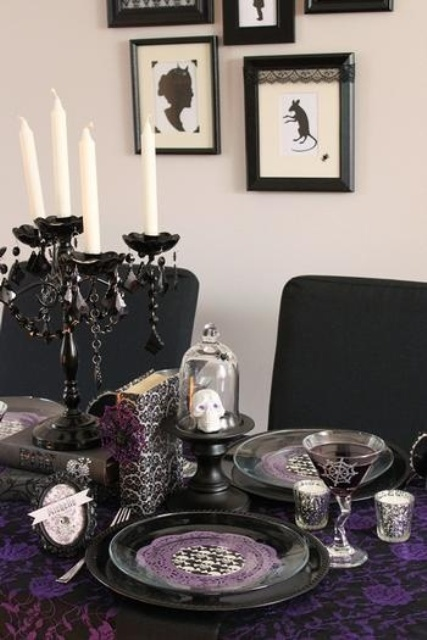57 Awesome Purple Halloween D 233 Cor Ideas Digsdigs