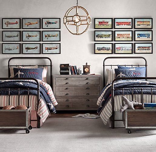 Picture Of awesome shared boys room designs to try  23