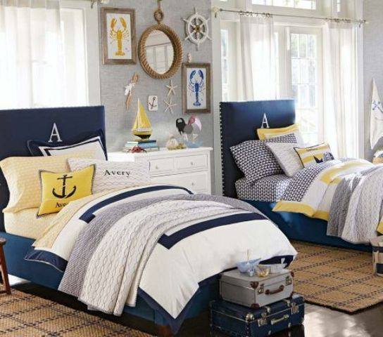Picture Of awesome shared boys room designs to try  29