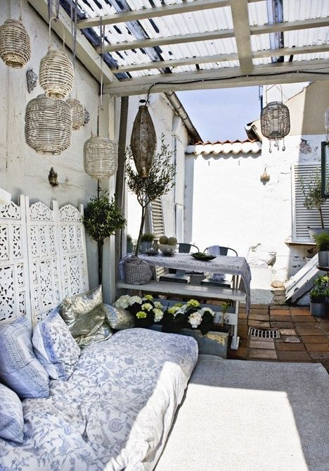 Awesome small terrace design ideas 4