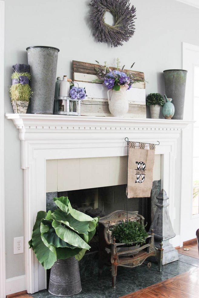 Mantel Decorating Ideas For The Holidays: 42 Awesome Summer Mantel Décor Ideas