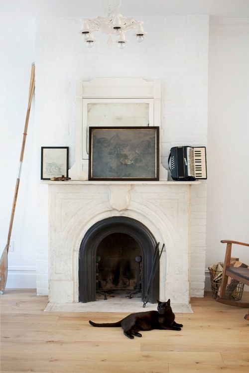 Awesome Whitewashed Fireplace Designs