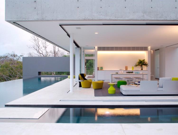 Azuris Ocean House For Indoor And Outdoor Living - DigsDigs