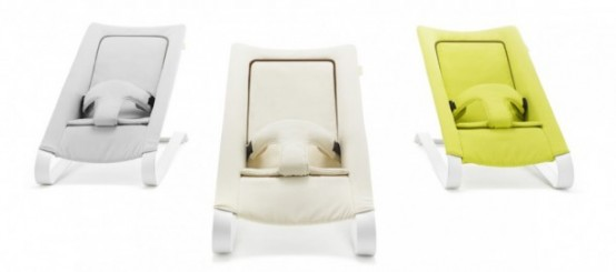 Baby Rocker That Transforms Into A Lounging Chair For Toddlers