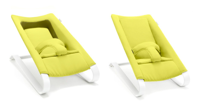 Baby Rocker That Transforms Into A Lounging Chair For
