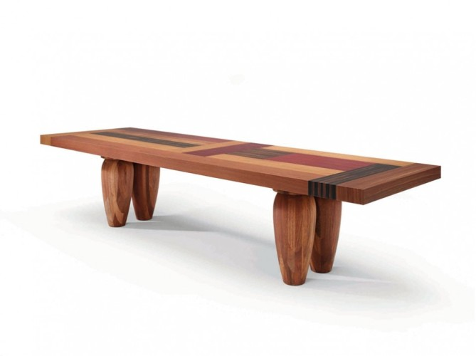 Stylish wooden dining tables digsdigs for Cool kitchen tables