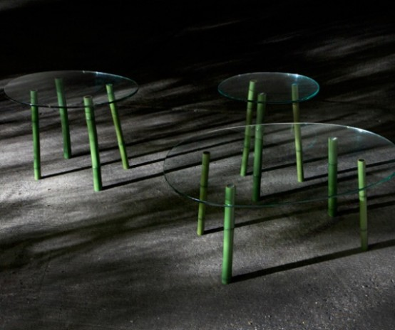 Bamboo Forest Furniture Combining Minimalism And Natural Beauty