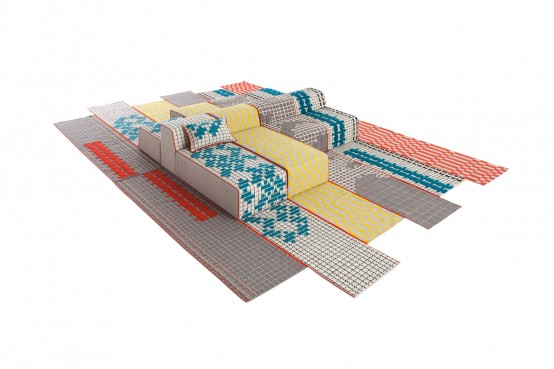 Bandas Space Made Of Furniture And In Various Colors