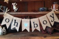 banner for a boy baby shower