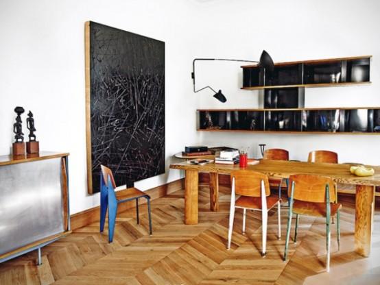 Barcelona Apartment With Mid-Century Designer's Furniture