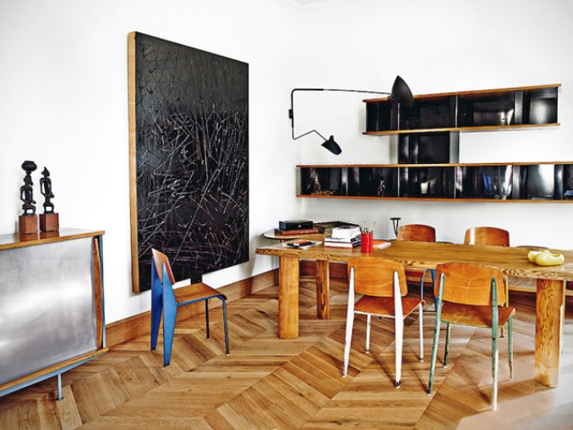 Barcelona Apartment With Mid-Century Designer's Furniture