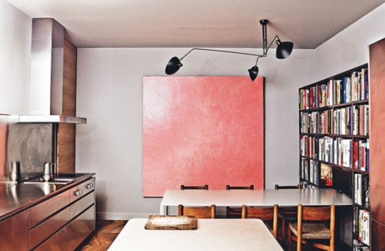 Barcelona Apartment With Mid-Century Designer\'s Furniture - DigsDigs