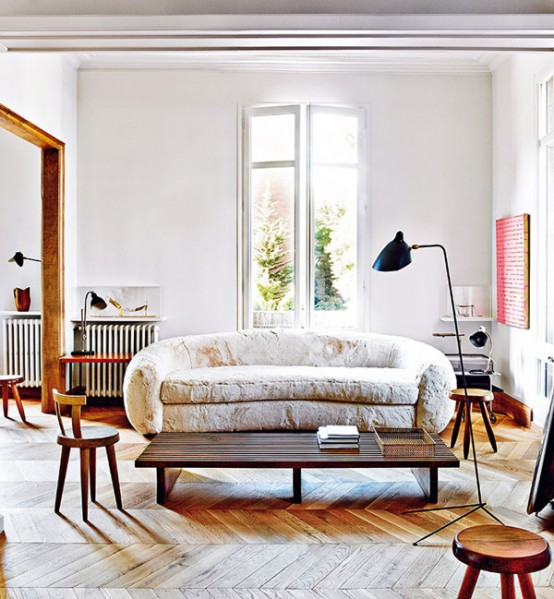 Barcelona Aparment With Mid Century Designers Furniture