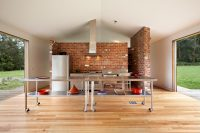 bare brick walls is another very popular feature of industrial style