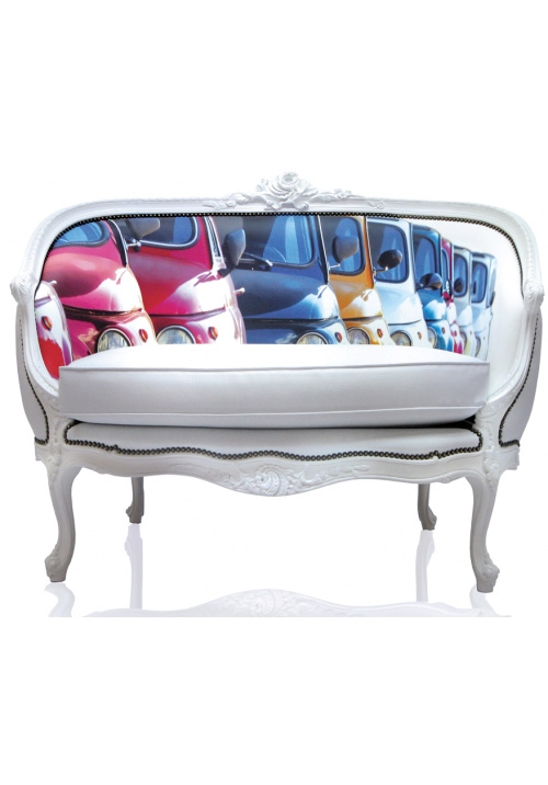 Baroque Sofa With Photographic Back
