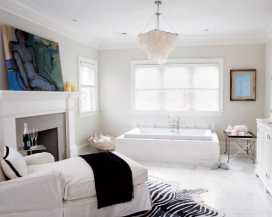Bathroom As A Cozy Retreat