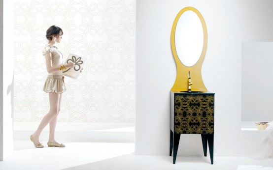 TanteAnte – Harmonic Bathroom Furniture by F.lli Branchetti