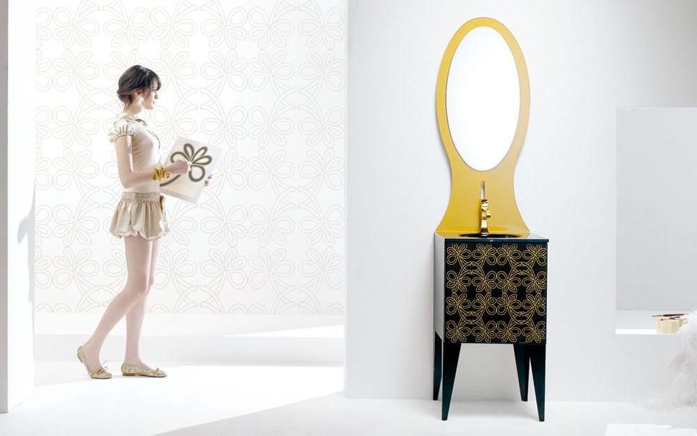 TanteAnte – Harmonic Bathroom Furniture by F.lli Branchetti