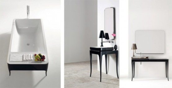 Bathroom Furniture With Glamour Touch Of The 30s