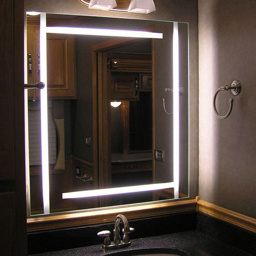 bathroom mirrors with tv built in bathroom mirrors with built in tvs by seura digsdigs 24934