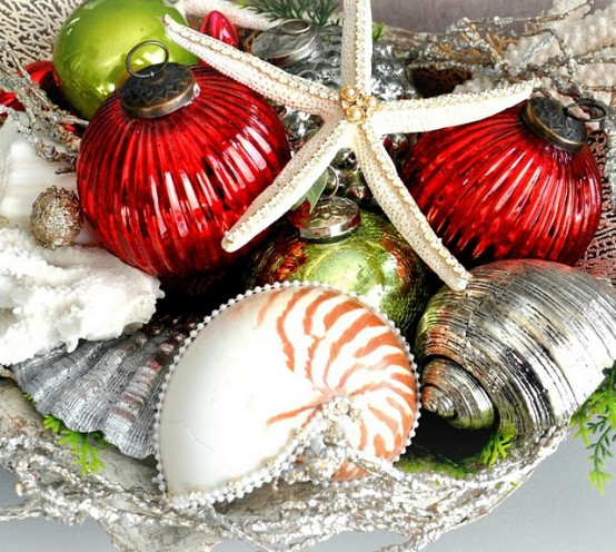 Beach Christmas Decor Ideas