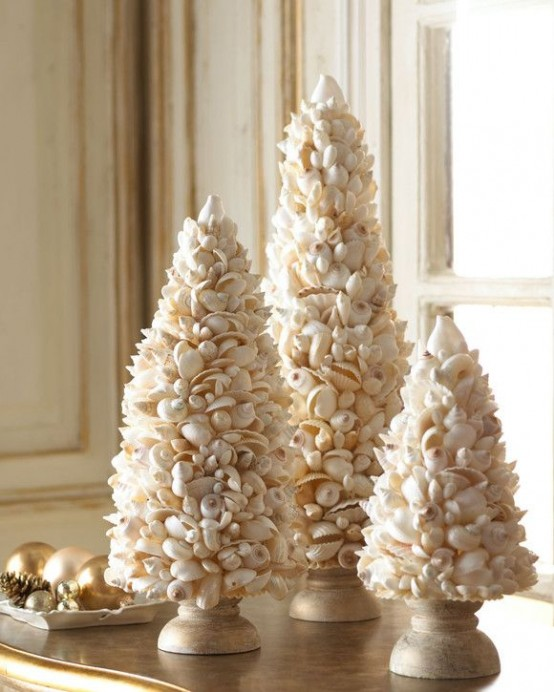 32 beach christmas dcor ideas digsdigs - Beach Christmas Decorating Ideas