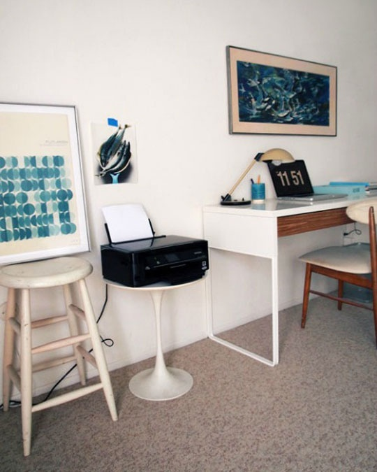 Groovy 23 Beach Inspired Home Office Designs Digsdigs Largest Home Design Picture Inspirations Pitcheantrous