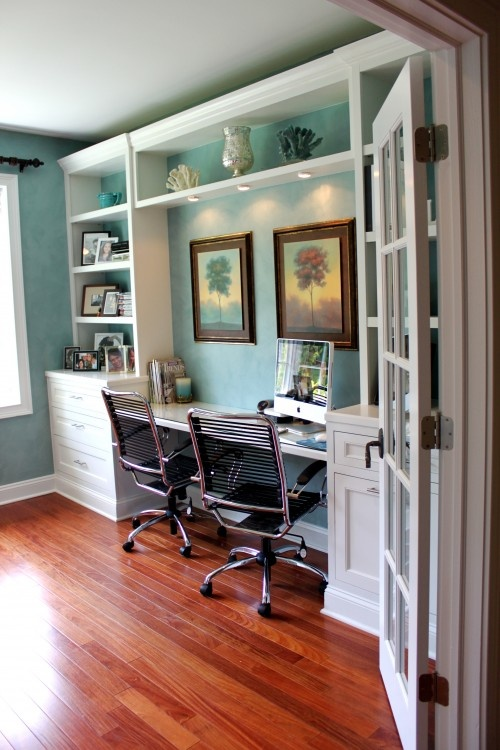 beach inspired home office designs - Inspired Home Design